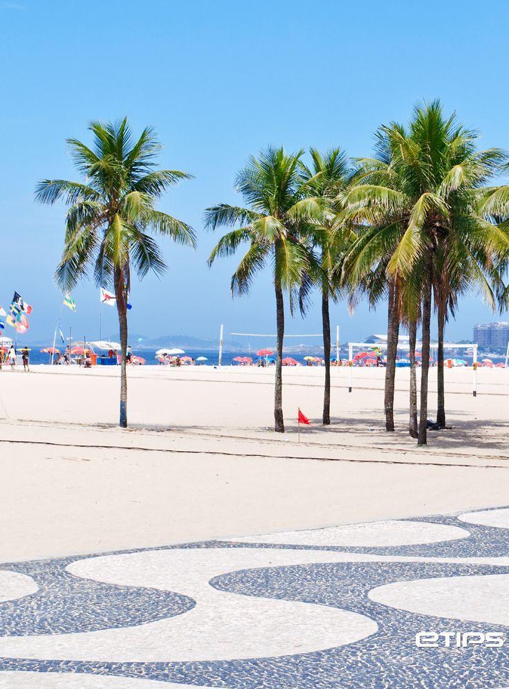 Praia de Copacabana, Rio de Janeiro  | http://www.etips.com  | by eTips #TravelApps