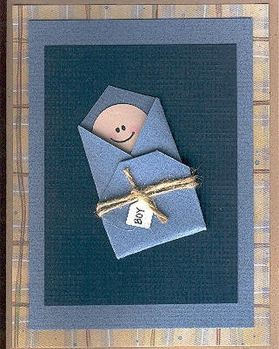 I was thinking of just making the baby as a tag, maybe representing as Jesus around christmas time :)