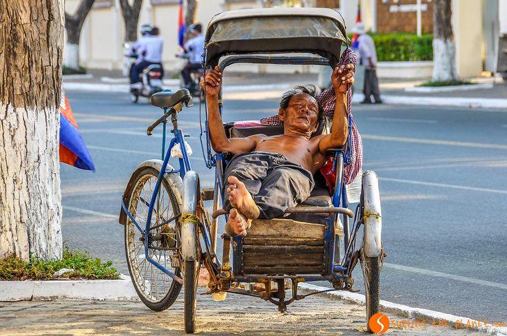 Hard life, Phnom Penh, Cambodia