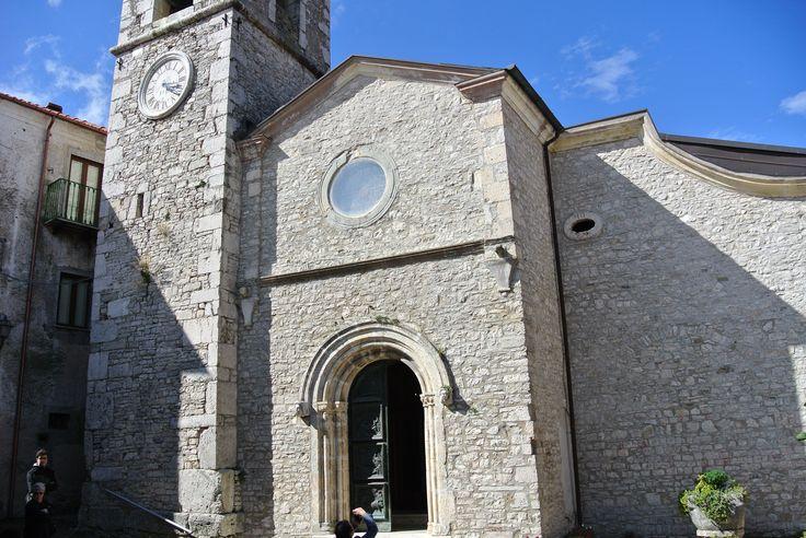 Chiesa di San Martino nel paese di Castelpetroso #Trivisonno15