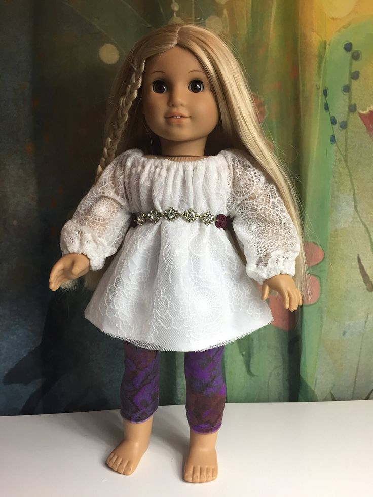 A personal favorite from my Etsy shop https://www.etsy.com/listing/568606388/american-girl-pretty-lace-dress-set