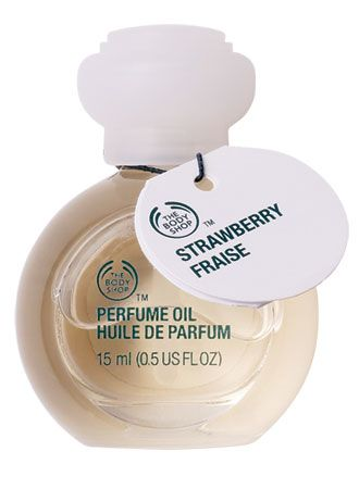 8, The body shop strawberry perfume oil