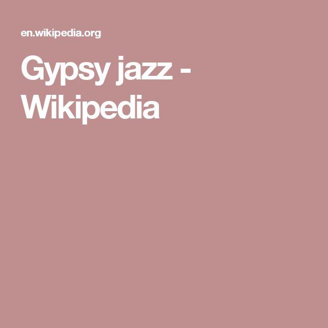 Gypsy jazz - Wikipedia