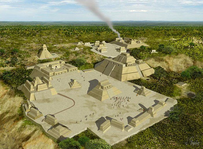 Spectacular Discovery Of Ancient Tombs Beneath Maya Pyramids Can Unravel The Mystery Of The Snake Kings