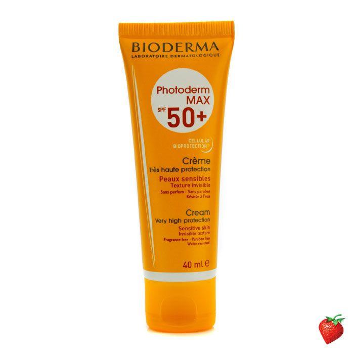 Bioderma Photoderm MAX Sun Cream SPF50+ 40ml/1.35oz #Bioderma #Skincare  #SunCream #SummerSpecials #Summer #Beach #Beauty #HotPick #FREEShipping #StrawberryNET