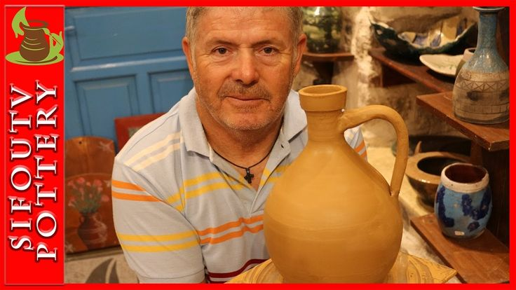 Pottery throwing - How to Make a Greek  Pottery Stamnos #99