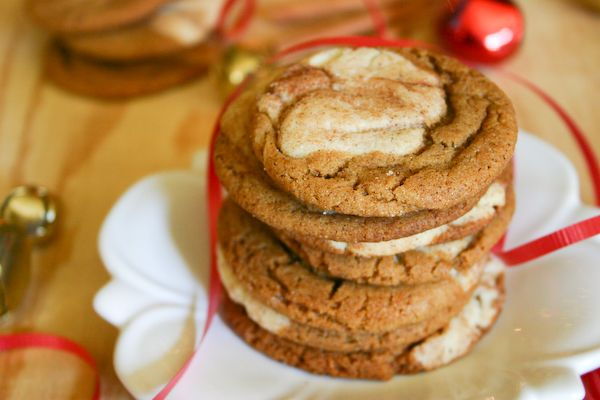Gingerdoodles/Snickersnaps    (buddingbaketress.blogspot.com): Christmas Desserts, Christmas Cookies, Christmas Recipes, Snickersnaps Gingerdoodles, Sweet Treats, Gingerdoodles Snickersnaps Ha, Gingerdoodles Or Snickersnaps, Gingerdoodles Genius