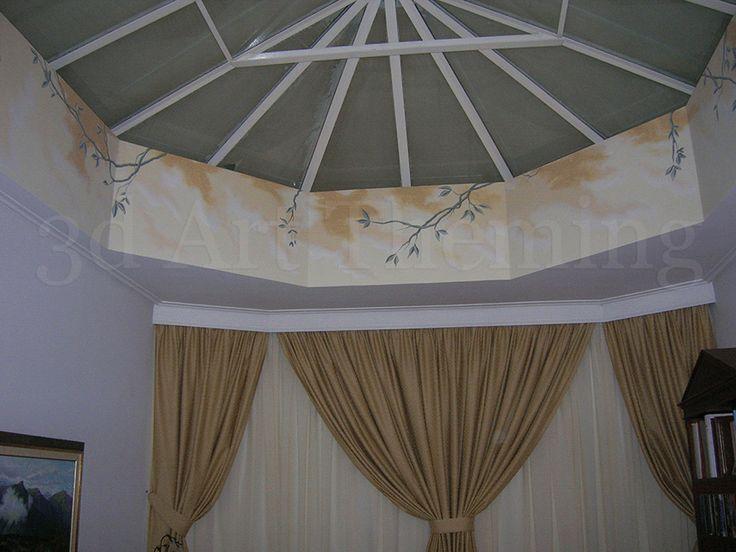 τοιχογραφία σαλονιού