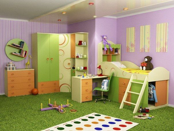 Furniture for children's rooms.