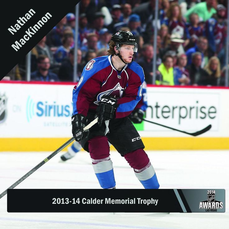 .@Avalanche's @Mackinnon9 is the 2014 Calder Memorial Trophy winner. #NHLAwards pic.twitter.com/VWf76CQfht