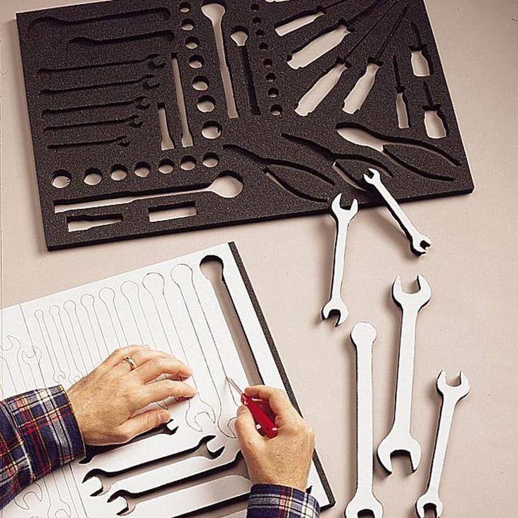 Foam Drawer Tool Box 2 Organizers Do It Yourself Customize Protect Organize #Craftsman
