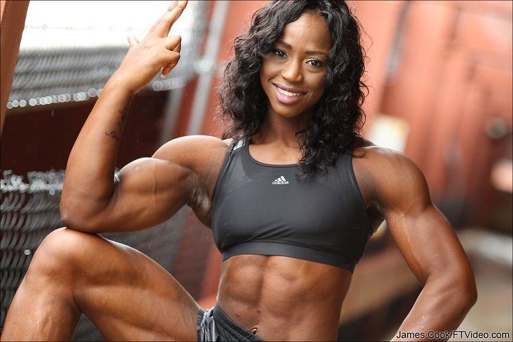 Ftvideocom Female Bodybuilders Flexing, Video Clips