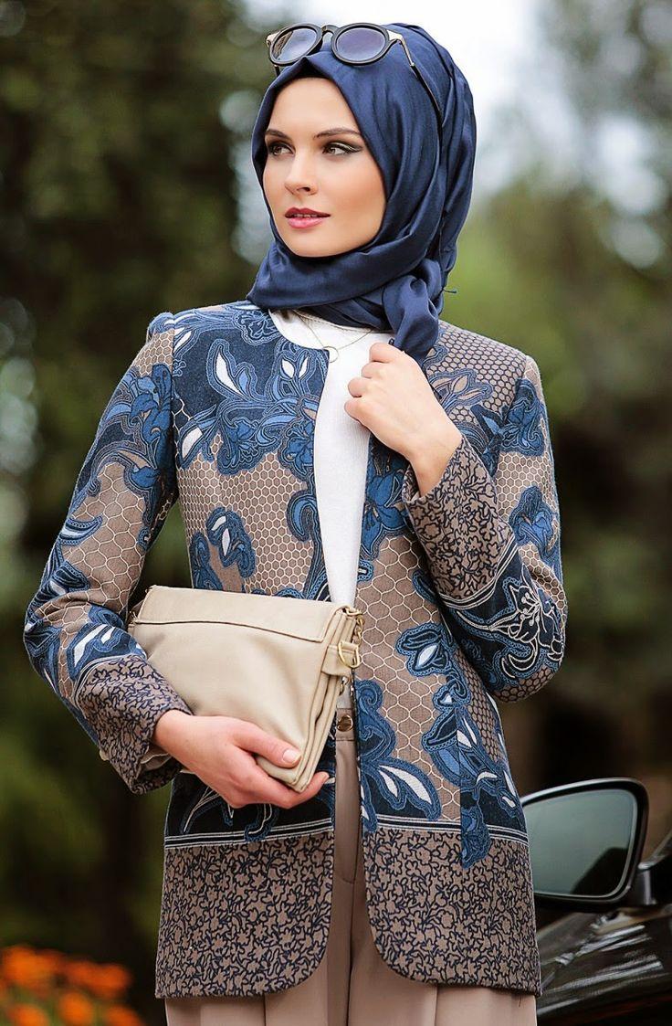 Un Hijab turque mode 2015 très chic, spécial étudiantes !   Hijab Chic turque style and Fashion
