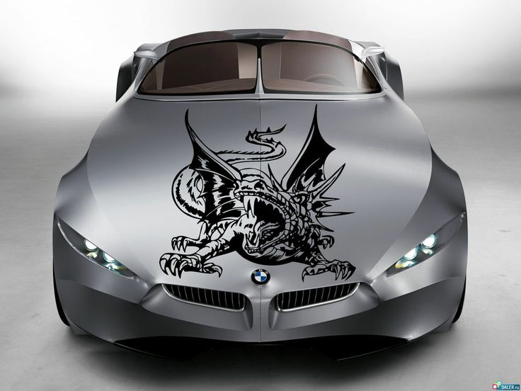 Dragon monster big HOOD AUTO VINYL DECAL ART STICKER GRAPHICS FIT ANY CAR AR1507