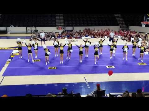 MCHS Gameday Routine 2017-UCA Cheer Camp 1st place! - YouTube