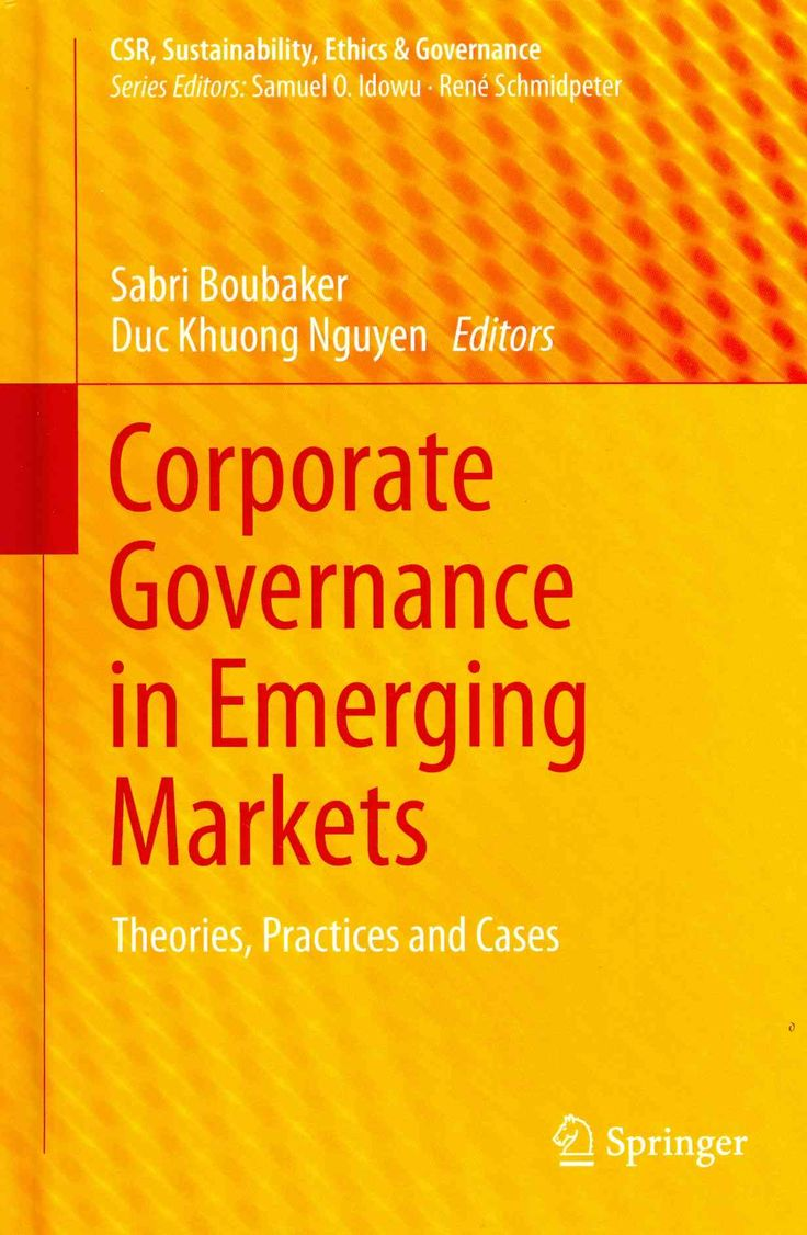 m aacute s de ideas sobre corporate governance en corporate governance in emerging markets theories practices and cases