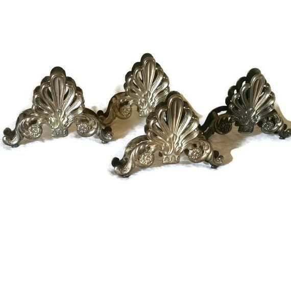 Napkin holders, silver plated napkin holders, vintage napkin holders,shabby chic napkin holders