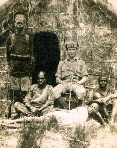 Jack Bannon from Newry served in East Africa during the First World War with the King's African Rifles (Courtesy of Patrick Bannon)