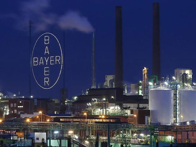 Das Werk der Bayer AG im Chemiepark in Leverkusen (Symbolbild)