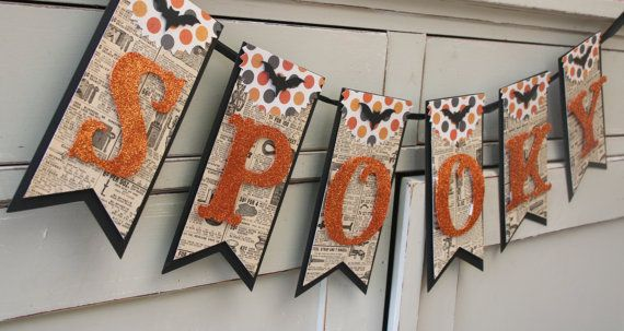 Hey, I found this really awesome Etsy listing at http://www.etsy.com/listing/161674155/spooky-banner-halloween-decor-vintage