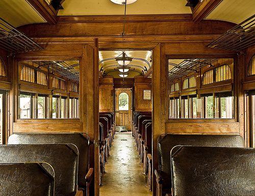 steam train interior
