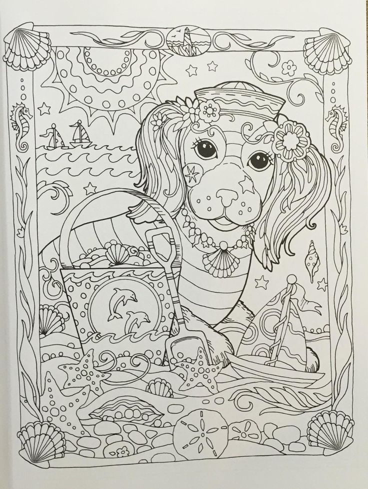 Amazon Prime Now Creative Haven Dazzling Dogs Coloring Book Adult