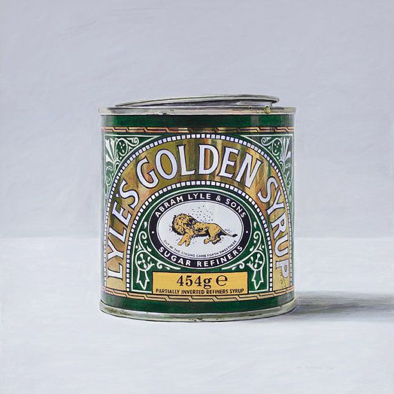 Lyle's Golden Syrup. Limited edition giclée print. by JoelPenkman, $60.00: