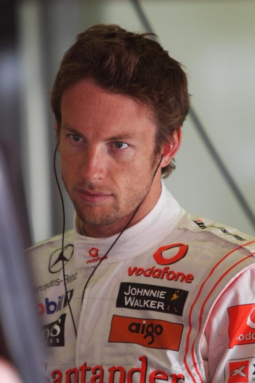 Jenson Button-- Formula 1 driver. Image credited to: http://pinterest.com/pin/117515871496233022/