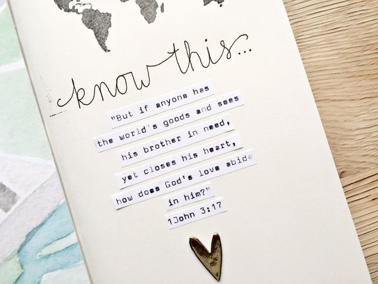 Stephanie Baxter | 1 John 3:17 - Illustrated Faith - Illustrated Faith