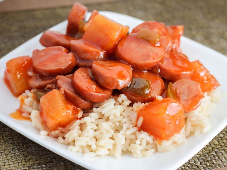 Are you looking for something a little different for the game, dinner or to take to a potluck? This Crock Pot Sweet and Sour Smoked Sausage will be a hit!