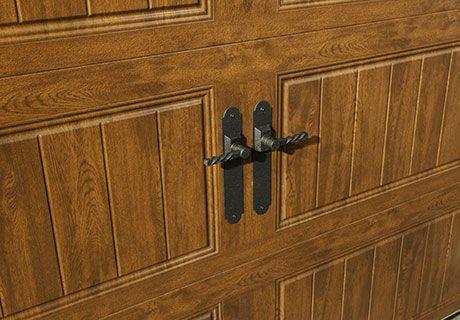 67 best wood look garage doors without the upkeep images for Wood grain steel garage doors