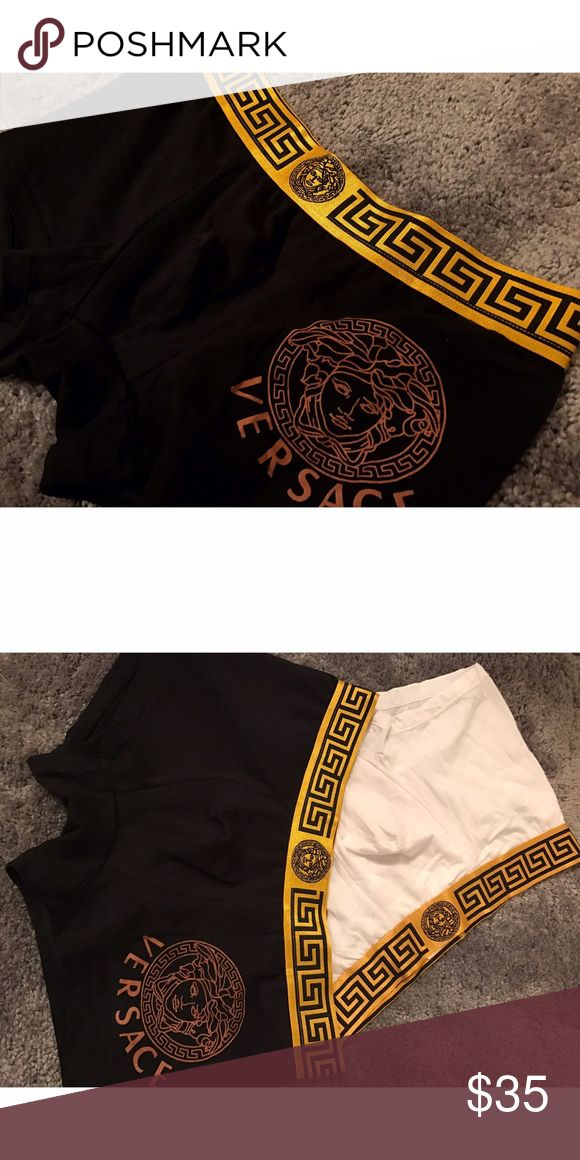 Black Versace Underwear 1 available! More colors listed. Bundle offer 10% Off. Versace Underwear & Socks Boxers