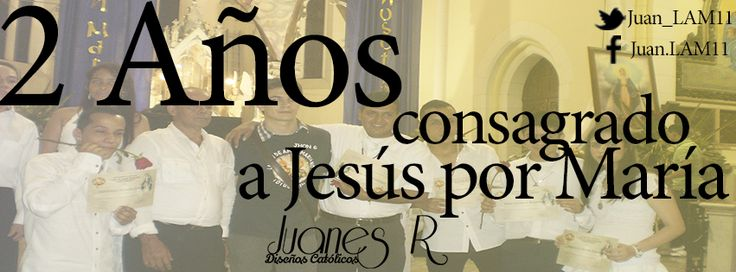 http://www.youtube.com/watch?v=VVVWatFRGIo Dos años en el corazón de María Santísima para llegar a Jesús
