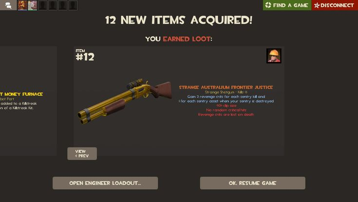 On my second ever Tour of Duty I got an Australium Frontier Justice. How did I get so freaking lucky?? Proof is in the comments for those that don't believe me. #games #teamfortress2 #steam #tf2 #SteamNewRelease #gaming #Valve