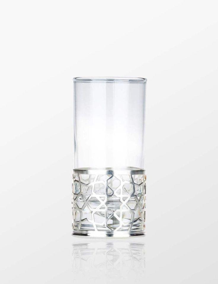Nak's Selcuk Water Glass (Platin) - Myra Store