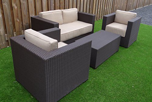 2 chairs 1 table 1 sofa outdoor gardens rattan and lawn. Black Bedroom Furniture Sets. Home Design Ideas