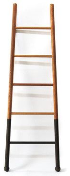 Bloak Ladder, White Oak - contemporary - Ladders And Step Stools - Three Potato Four