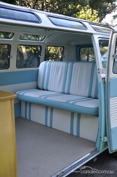 110 best vw interior images on pinterest vw camper vans for Vw kombi interior designs