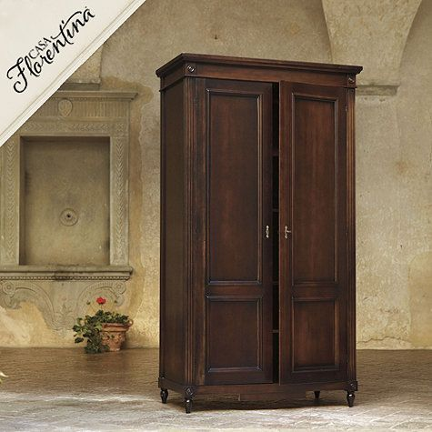 Casa florentina louis xvi armoire bedroom and closet pinterest armoires bedrooms and for Master bedroom set with armoire