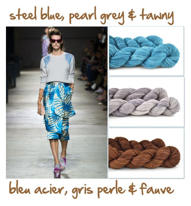 combo 5 by miss-agnes on Polyvore featuring mode, Dries Van Noten and yarn