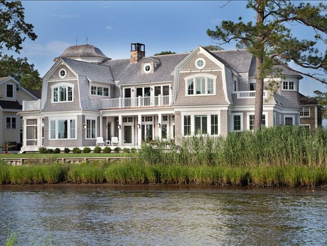 Shingle Beach House with Classic Coastal Interiors