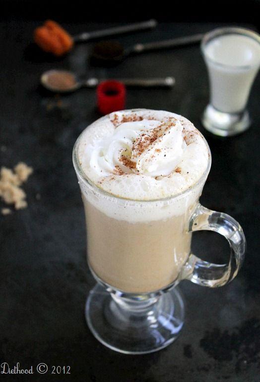 pumpkin spice latte   via diethood.com