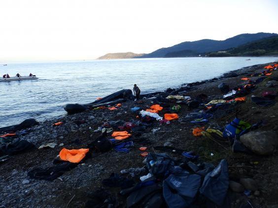 Image result for refugee boat