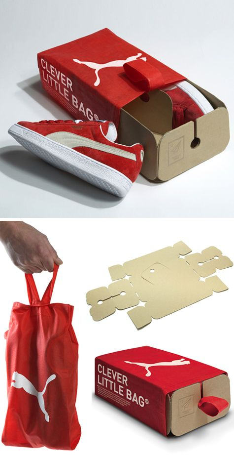 Puma Shoes EcoPackaging