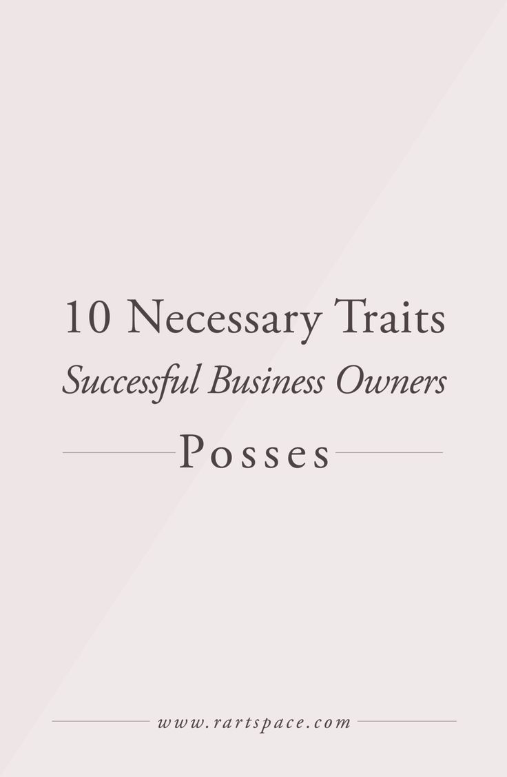 Since I started my business I've noticed some things about business owners.  Some business owners have qualities that others don't and all successful  business owners have multiple if not all the qualities I go over today.  In no particular order I would love to share with you some things I have  both observed (a lot from Shark Tank) and learned since launching my  business.    1. Willingness to Work Hard   If you've started your own business you know that it takes a lot of hard  work. It…