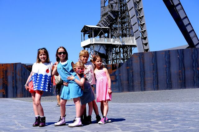 mama van vijf: Toerist in eigen land : C-mine