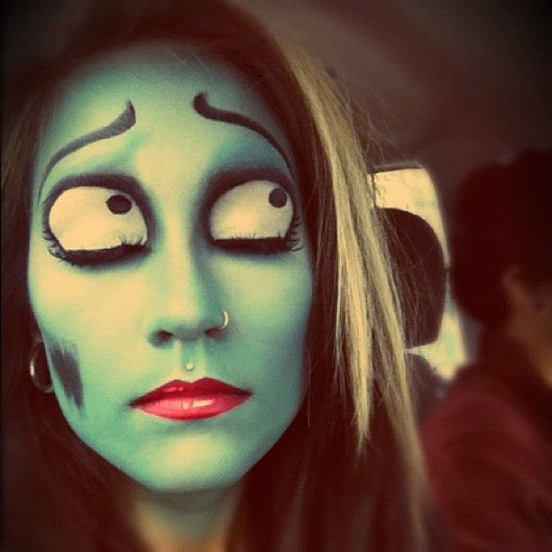 Pretty sweet Corpse Bride by chloerainwater. #Sephora #Sephoraween #Halloween