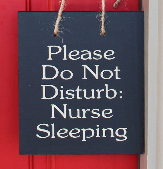 """Nurse bling: """"Do not disturb"""" sign #Nurses #Quotes #Awesome"""
