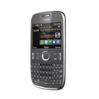 Nokia Asha 302 ułatwia szybkie surfowanie po Internecie, wysyłanie wiadomości SMS, czatowanie i łączenie się o każdej porze, z każdego miejsca. Dzięki możliwości wysyłania wiadomości e-mail w trybie push oraz czatowania ze znajomymi w aplikacji WhatsApp lub na Facebooku zawsze pozostaniesz w kontakcie. Produkt w kolorze ciemnoszarym.