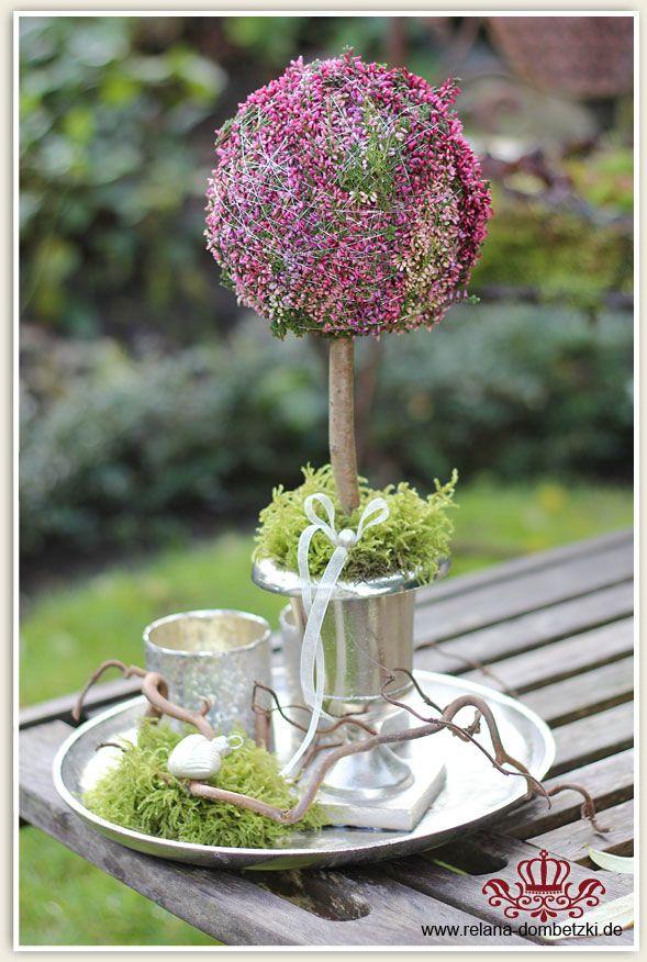 Heide-Arrangement - Wohnen und Garten Foto